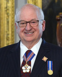 His Honour, The Honourable Arthur J. LeBlanc, ONS, QC, Lieutenant Governor of Nova Scotia, patron of the Royal United Services Institute of Nova Scotia