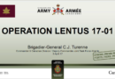 Operation LENTUS 17-01 Canadian Armed Forces Assistance to New Brunswick in Response to Ice Storm January-February 2017
