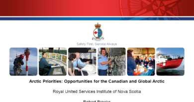 Arctic Priorities: Opportunities for the Canadian and Global Arctic