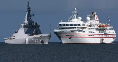 Cruise Ship Fights Maritime Patrol Ship (and Wins)