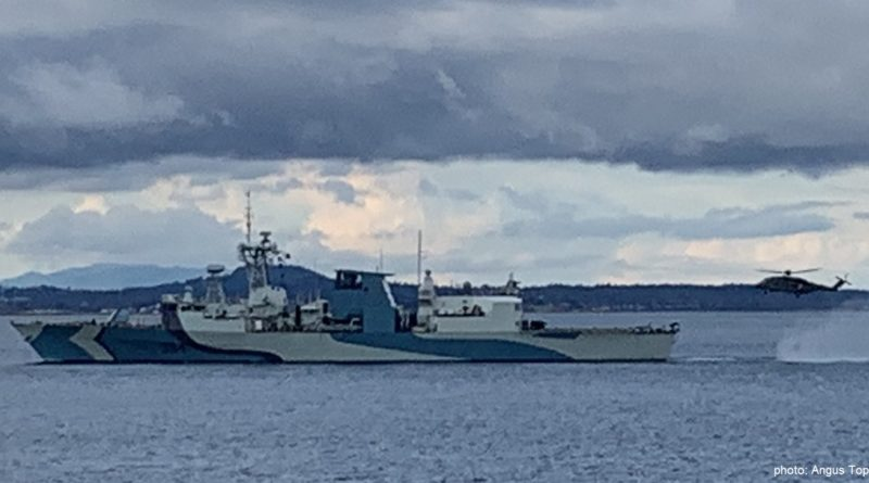 Naval Camouflage and its Application on HMC Ships REGINA and MONCTON: A Brief History