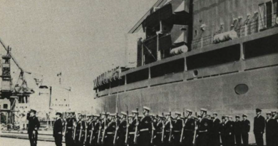 Commissioning Canadian Navy Ships
